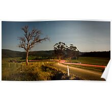 Silent Bystander - Country Tasmania Poster