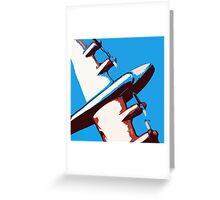 Bullet Plane Greeting Card
