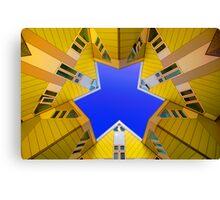 Cubic Houses Rotterdam Canvas Print