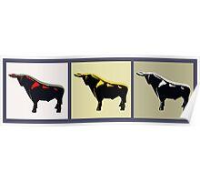 3 Bulls Poster