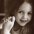 take a photo of my foot by Clare Colins