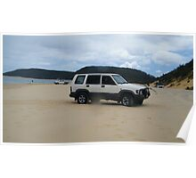 Our Jackaroo  1997 model Rest at rainbow beach qld , Poster