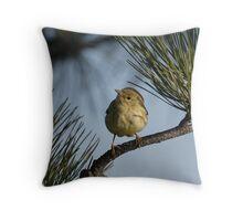 A Blackpoll Warbler 01 Throw Pillow