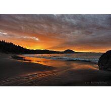 Morning Beach Photographic Print