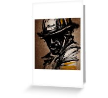 The American Firefighter Greeting Card
