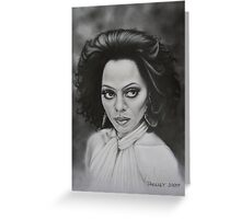 The incomparable Diana Ross. Greeting Card