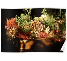 A Kettle Full of Flowers Poster