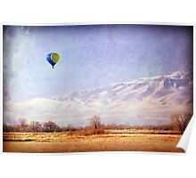 Hot Air Balloon - American Fork, Utah Poster