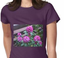 Rhododendron in Bloom Womens Fitted T-Shirt