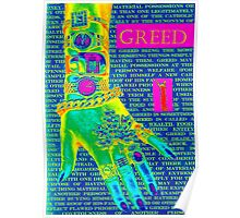 7 Deadly sins-Greed Poster