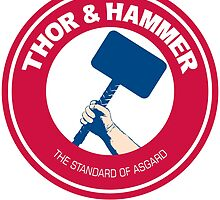 THOR AND HAMMER by Numnizzle