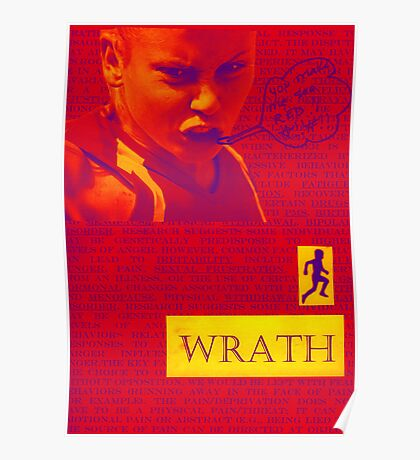 7 Deadly sins-wrath Poster
