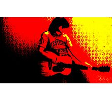 rock in roll Photographic Print