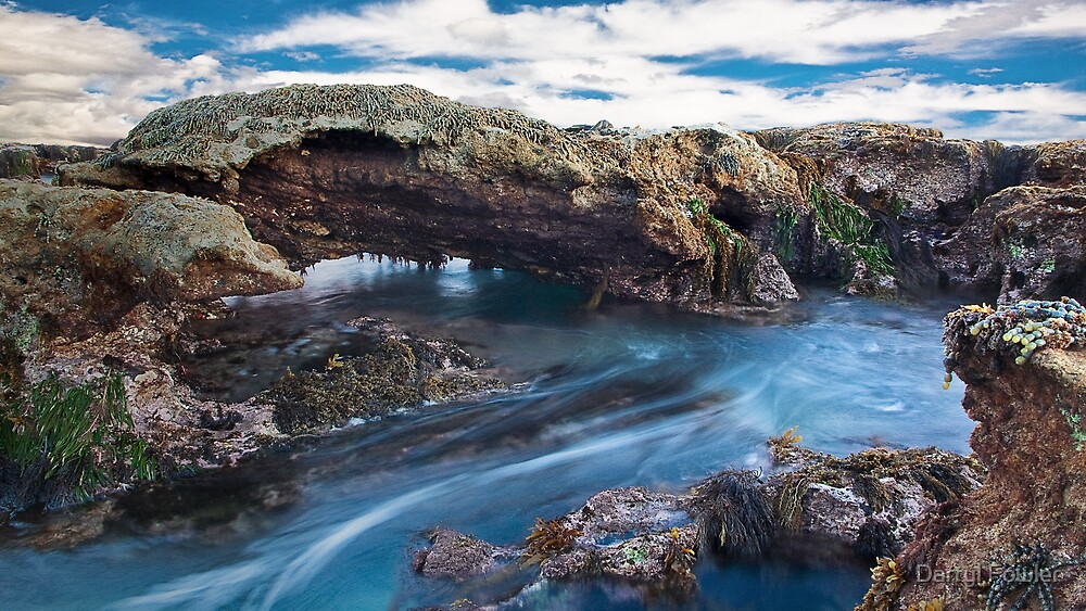 """""""Blue Water Flow"""",Point Roadknight,Anglesea. by Darryl Fowler"""