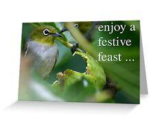 Festive Feast Greeting Card