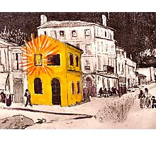 The Yellow House ( Homage to Vincent VanGogh ) Photographic Print