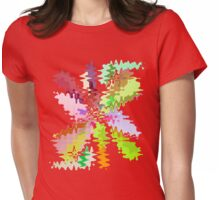Zapped Womens Fitted T-Shirt