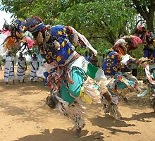 Malawi: Gule Wamkule dancers by Anita Deppe
