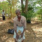 Malawi: Gule Wamkule drummer by Anita Deppe