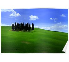Val d'Orcia  Poster