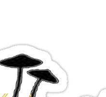 magic mushrooms Sticker