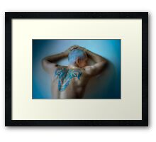 Luminous Taurus Framed Print