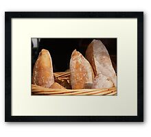 Bread, Lyttelton Farmers Market Framed Print