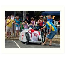 Billy Kart Art Print