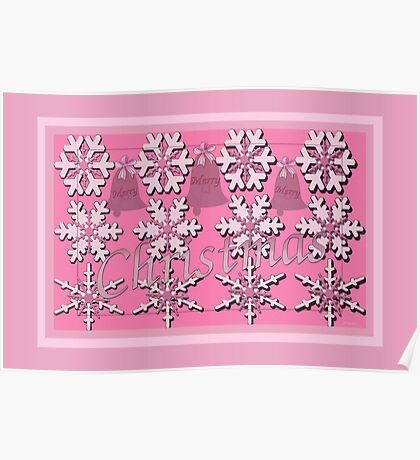 Christmas in the Pink Poster