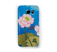 Left Part Of The Triptych Ripple Effect Samsung Galaxy Case/Skin