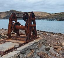 Old Boat Winch by Werner Padarin