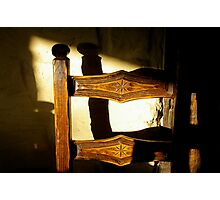 dining chair Photographic Print