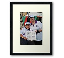Relay For Life Framed Print