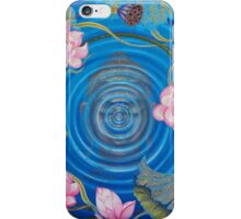 Ripple effect iPhone Case/Skin