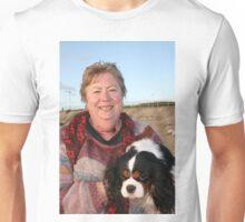 Cathie & her Cavileer King Charles Terrior, Darling Unisex T-Shirt