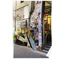 Lane Way Impressions 01 Poster
