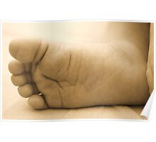Tiny Sleeping Feet  Poster