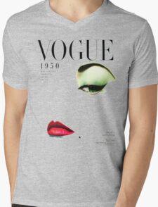 (vogue) Mens V-Neck T-Shirt