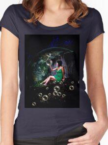 Allison in Wonderland Women's Fitted Scoop T-Shirt