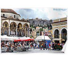 Monastiraki, Athens, Greece Poster