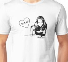 With Love, Buffy Unisex T-Shirt