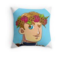 Avengers Flower Crown - Steve Throw Pillow