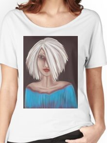 Portrait 01 Women's Relaxed Fit T-Shirt