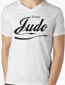 Enjoy Judo  Mens V-Neck T-Shirt