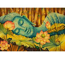 Reclining Buddha Photographic Print