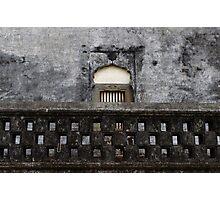 The Sultan's Tomb, Madikeri. Photographic Print