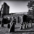 Devon Churchyard. by Dave Hare