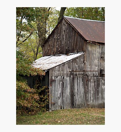 Old Barn in color Photographic Print