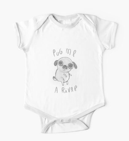 Pug me a river One Piece - Short Sleeve