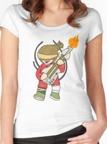 The Doof Warrior Women's Fitted Scoop T-Shirt